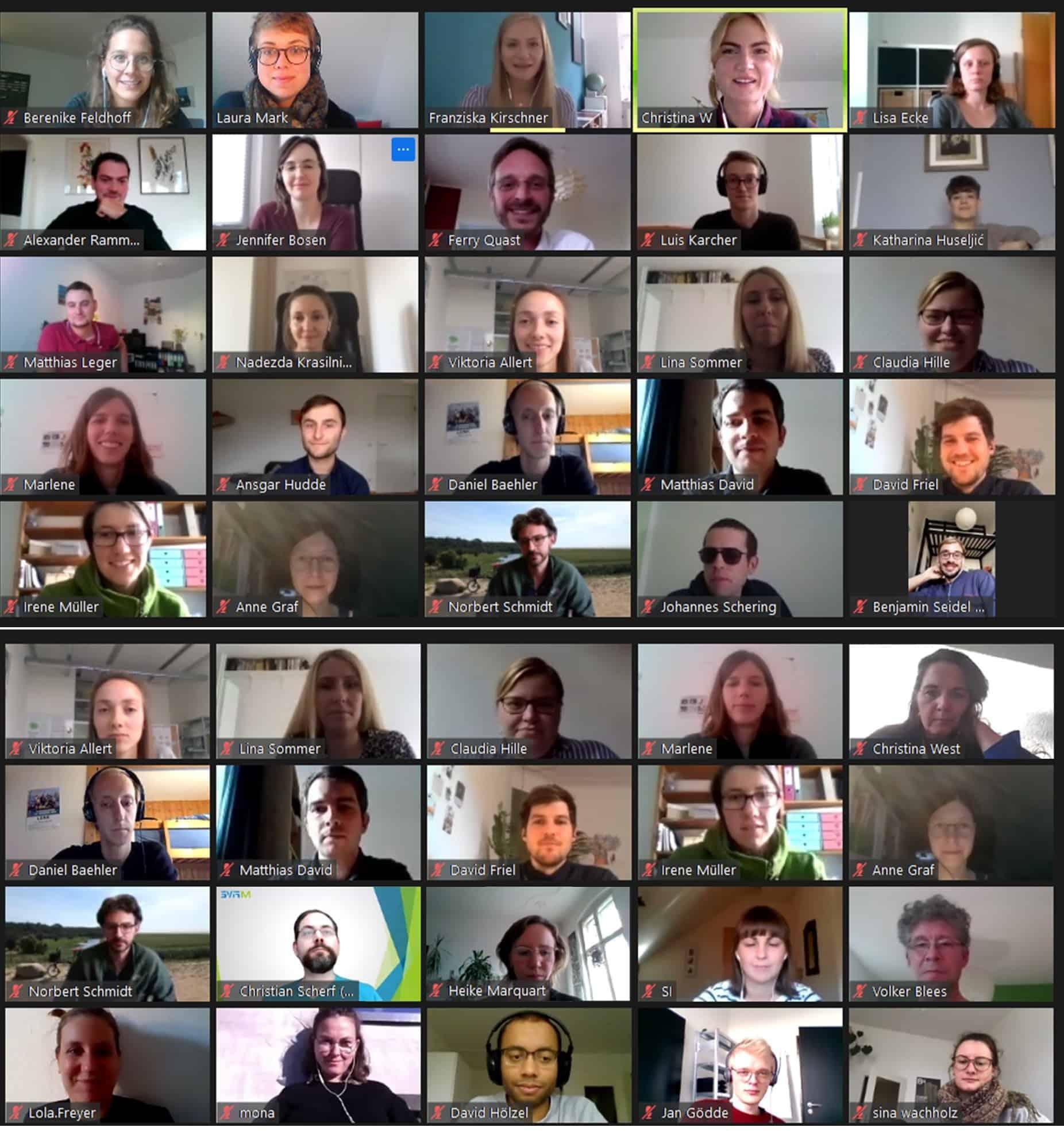 Teilnehmer*innen der 11. Jahrestagung im Jahr 2020.